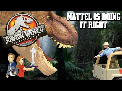 Jurassic World Legacy Collection Mattel Toy Review - Michael's Modern Musings