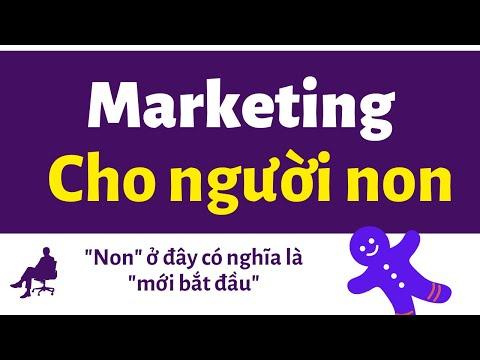 Marketing cho người mới - Dễ như ăn bánh
