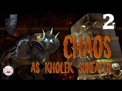 Total War Warhammer - Chaos Warriors - Kholek - Campaign 2