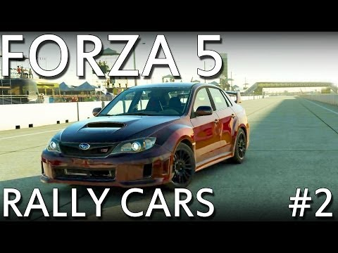 Forza 5 - Production Rally Cars - Part 2 (Xbox One Exclusive)