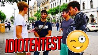 IDIOTENTEST 🤓 STRAßENUMFRAGE (LUSTIG) 😂👌 │ PAXENT