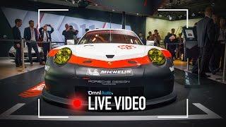 Porsche 911 RSR   Salone di Los Angeles 2016