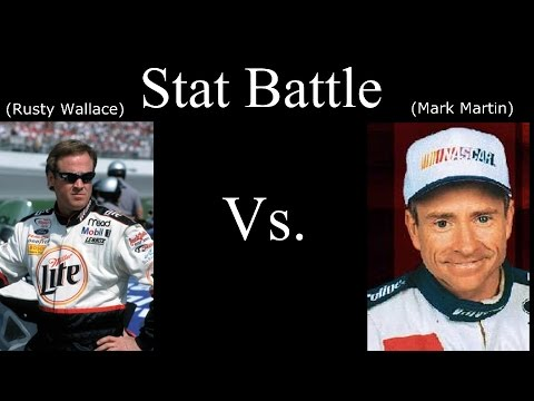 Stat Battle: Who's Better? Rusty Wallace Or Mark Martin