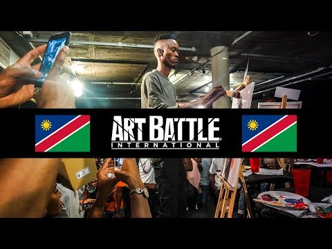 Namibia Art Battle Competition FNCC 2018