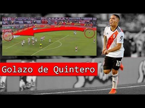 GOLAZO de QUINTERO para ganarle a RACING | Resumen en 3