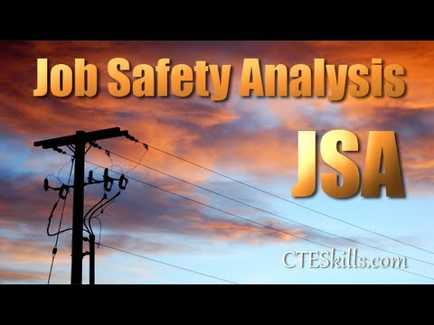 Job Safety Analysis (Jsa) - Youtube
