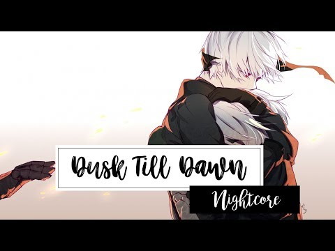 ✤ Nightcore 〜 Dusk Till Dawn 「Zayn  ft. Sia」「Lyrics」