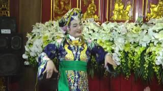 Chầu Lục Cung Nương-hầu đồng hầu bóng đẹp nhất 2017-Nghệ Nhân Đặng Hồng Anh;Full HD - 4k - Flycam