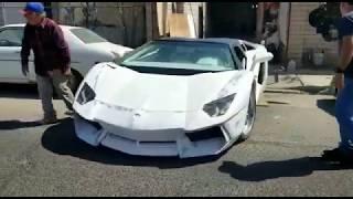Lamborghini aventador roadster replica