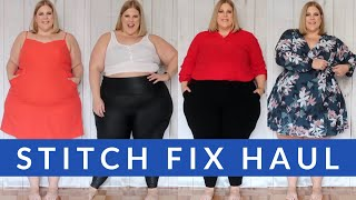 Stitch Fix Plus Size Haul: Summer and Winter Looks in one box!