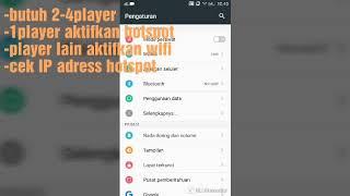 cara mabar online Monster Hunter portable 3rd ppsspp-via hotspot android (online jarak dekat)