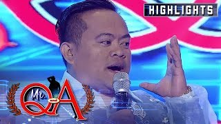 Shernan corrects the term used for FlipTop | It's Showtime Mr. Q and A