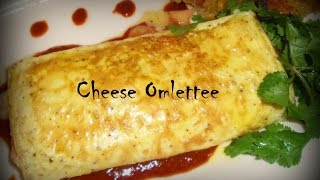 How to make cheese omelette