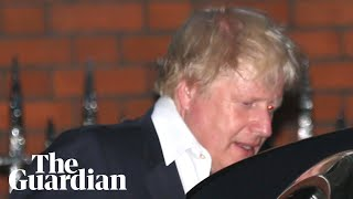 Boris Johnson leaves his home after resigning as foreign secretary thumbnail