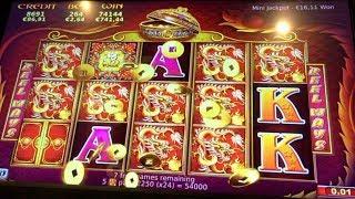 ++ HANDPAY ++ 5 TREASURES - Big Huge Win Bonus & Retrigger Similar 88 Fortunes Slot Machine Bally