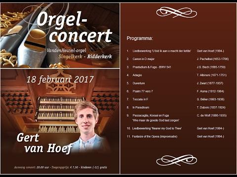 Basso ostinato G.F. Händel - Singelkerk Ridderkerk