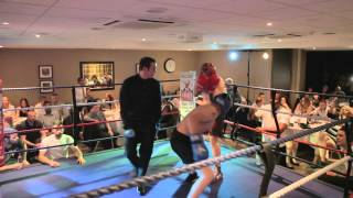 Chris Napier Vs Jack Chase - Funkin Fitness White Collar Boxing