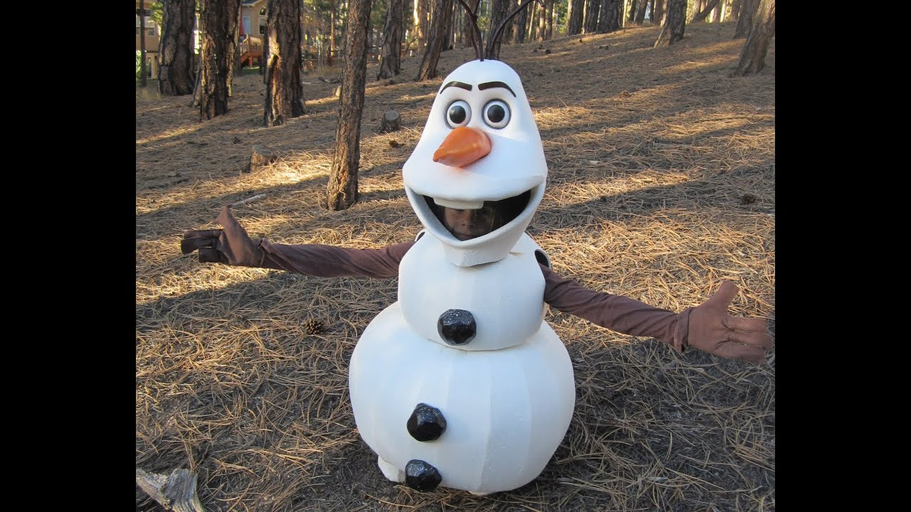 Olaf homemade halloween costume youtube olaf homemade halloween costume solutioingenieria Image collections