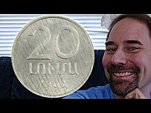 Armenia 20 Luma 1994 Coin