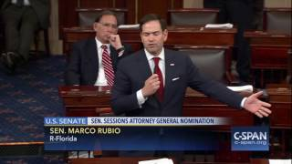 Sen. Marco Rubio (R-FL) on debate in U.S. Senate (C-SPAN)