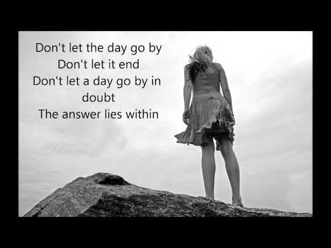 The Answer Lies Within - Dream Theater Lyrics Video