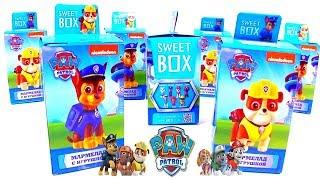 Щенячий Патруль Игрушки из Мультфильма PAW PATROL Сюрпризы СвитБокс Sweet Box Surprise Toys