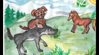 """Сказка """"Волк, собака и кот"""" в программе """"Споки ноки"""" 28 05 13, часть 1"""