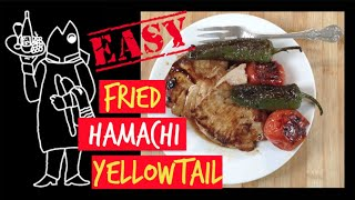 Cook Your Catch 😍 Yellowtail Recipe Fried Hamachi