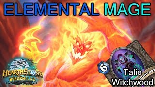 Witchwood Talie: ELEMENTAL SPITEFUL MAGE (mega przyjemna talia)