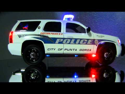 Chevrolet Tahoe police car