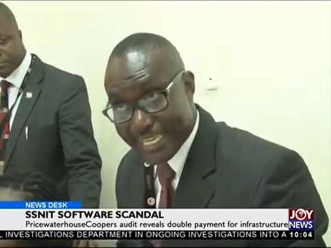 SSNIT Software Scandal - News Desk on Joy News (19-4-18)