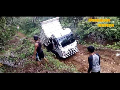 Anak smp menyelamatkan truk kepater di tanjakan panjang