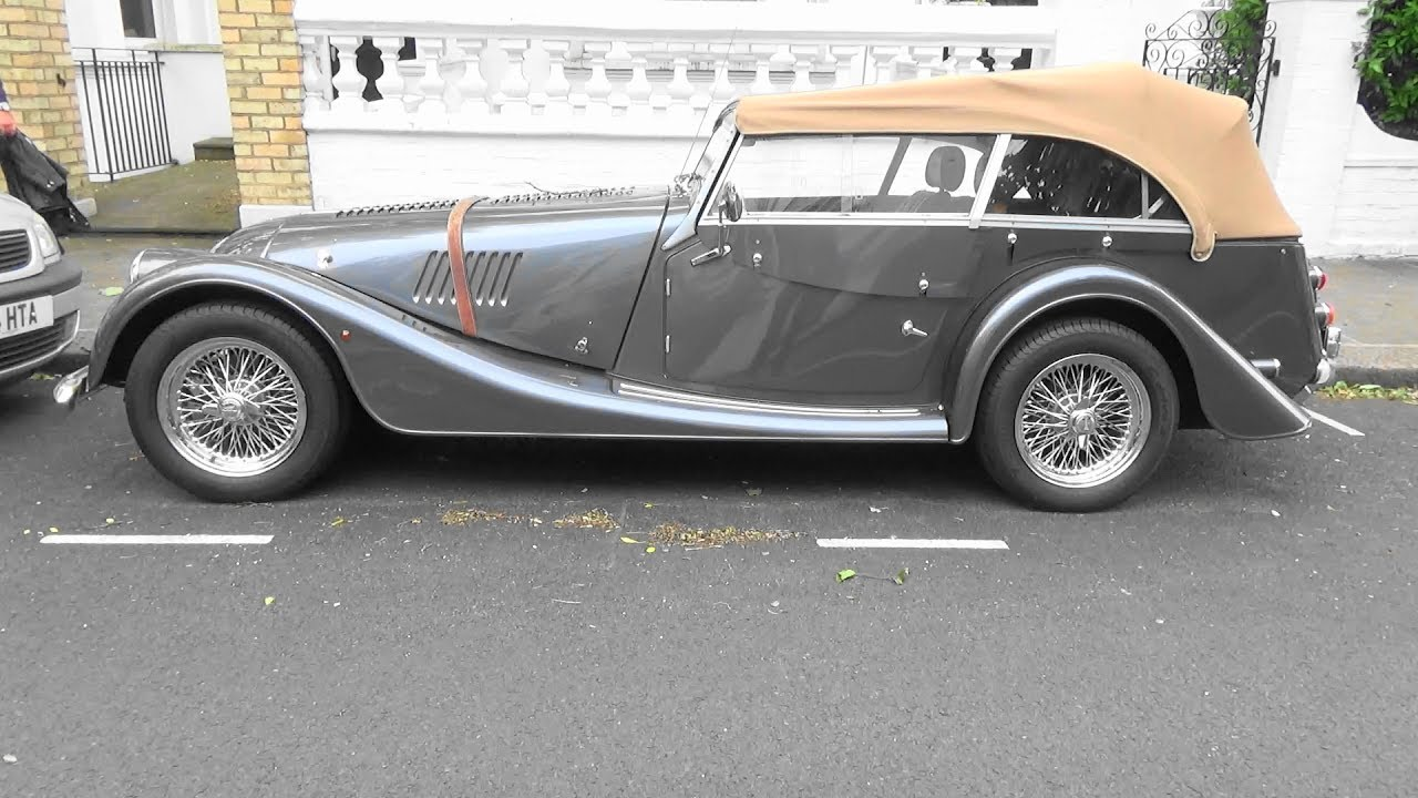 Morgan Roadster 3.7 V6 4 Seater - London - YouTube