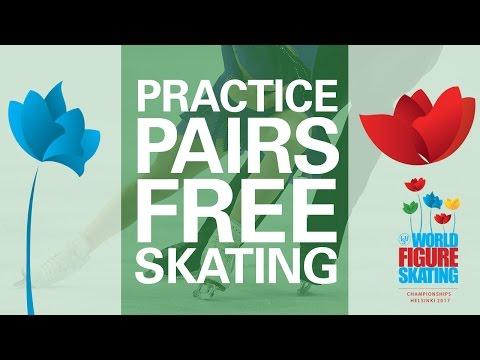 Pairs Free Skating Practice - Helsinki