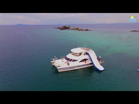 Yacht party in Pattaya | Pattaya Boat Party | Pattaya Boat Hire  Luxury motor catamaran 53ft