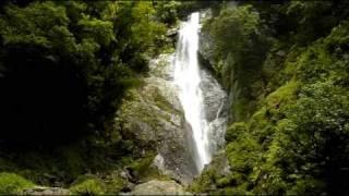 熊本県八代市泉町柿迫 日本の滝100選 栴檀轟の滝