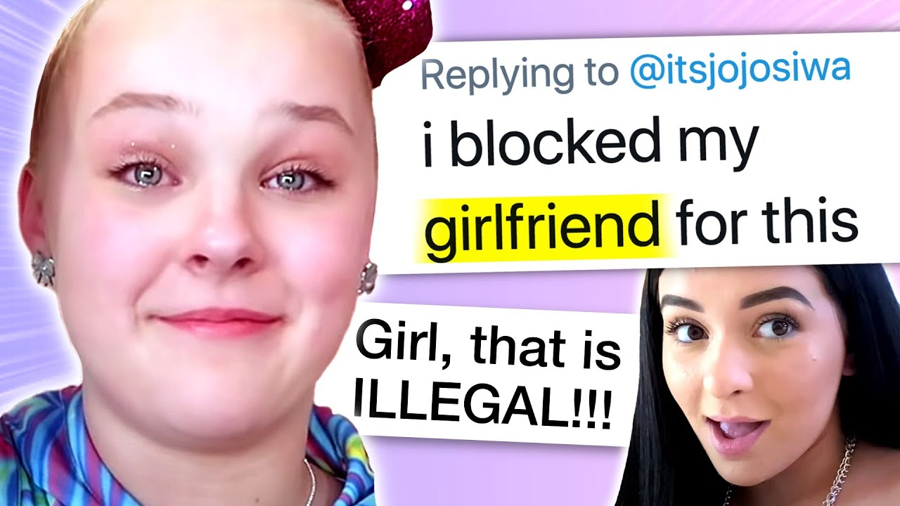 Download Jojo Siwa in TEARS after 9 Year-Old Shares Video, Reveals Truth About Girlfriend, Danielle Cohn LIED