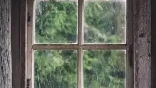 pencere yagmur manzara ve muzik  whatsapp ucun status