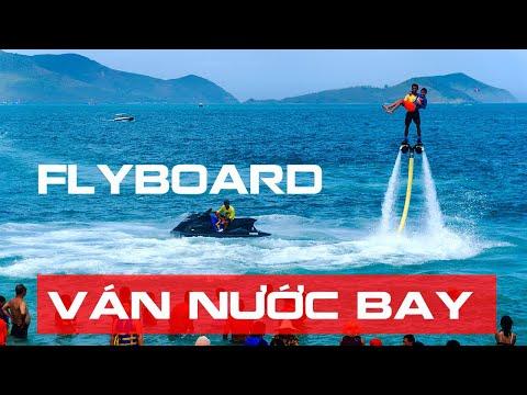 Trò chơi ván bay nước Flyboard mạo hiểm thú vị Nha Trang