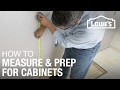 How to Install Kitchen Cabinets: Prep & Measure