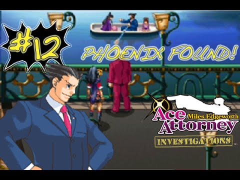 Let's Play Miles Edgeworth: AAI: Pt.12: Phoenix?
