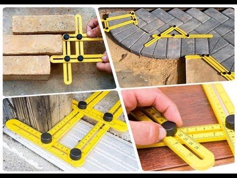 TGR Angle-izer Multi-Angle Ruler Template Tool Multi-Angle Ruler