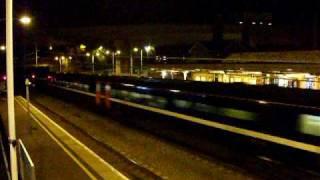 An Arcing 225 Train At Huntingdon 10/10/2009.