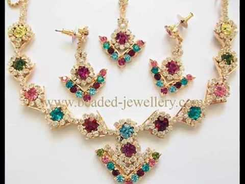 Wonderful Rhinestone jewelry Rhinestone necklace earrings