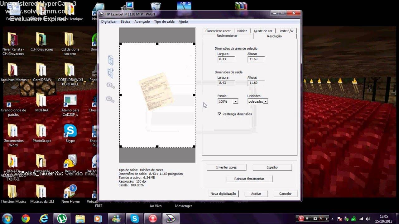 Como Escanear Documentos Na Impressora Laserjet M1132 Mfp