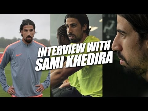 Interview with Sami Khedira - Football training and rehab advice - English subtitles