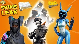"""LEAK"" New PILOT Skins, Ninja Bunny, Emotes, Camouflages & More! Fortnite Leaks [ENGLISH]"