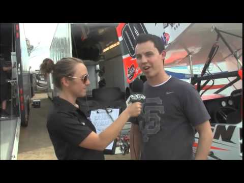 2015 World of Outlaws Thunderbowl Raceway Night 1: One-on-One with Cory Eliason
