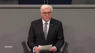 Volkstrauertag: Rede von Bundespräsident Frank-Walter Steinmeier im Bundestag