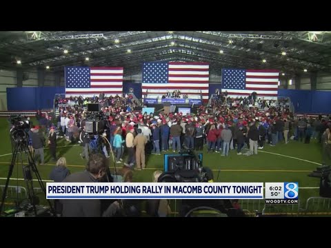 President Trump holds Saturday rally in Michigan
